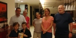 Rencontre et dernière soirée superbe en compagnie de Gaëlle, Hervé, Florian, Maelys et de leurs gd parents. MERCI .