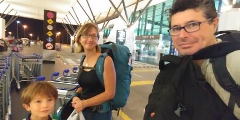 3H00 du matin arrivée a l'aéroport.
