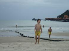 Fin d'aprèm détente plage