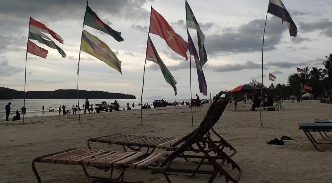 Fin d'après-midi sur une plage de Langkawi