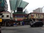 Le marché couvert de Petaling Street dans Chinatown.