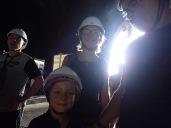 Puis visite de Dark Cave.