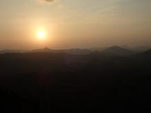 Ce coucher de soleil sur ces étendues. UNIQUE et MAGIQUE.