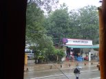 1ère journée à Sigiriya, gros gros orage.