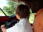 Avec notre super chauffeur.