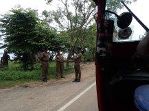 bcp de policiers sur la route mais anarchie totale.