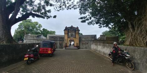 Le fort de Matara. vous le voyez en entier!!!!