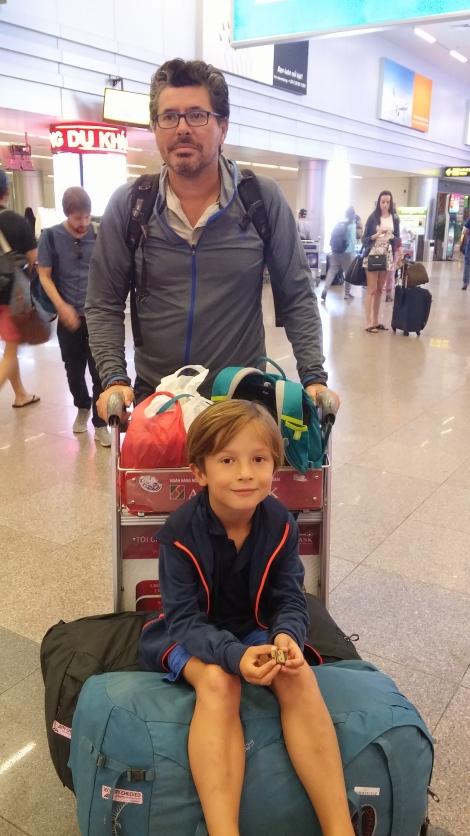 Aéroport pour Hoi An.