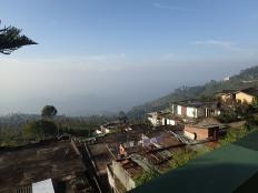 Et la brume matinale.