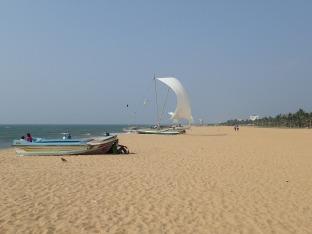 Petit tour à la plage de Negombo.