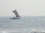 Catamaran de pêche.