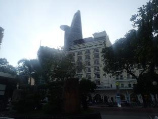 L'hôtel Majestic.