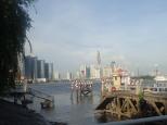 Sur le fleuve Saïgon.
