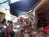 Le marché quotidien ds notre rue.