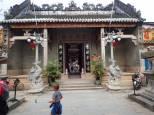 Le temple Cantonais Quang Dong de 1885. Consacré à la déesse de la mer.