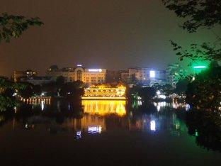 Lumière sur le lac .