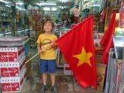 Go Vietnam, ils jouent en final demain et gage rempli pour Pauline .