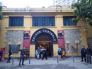 La prison de Hoa Lo à Hanoï construite par les français en 1896.
