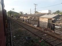 Sortie de Colombo les bidonvilles