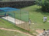 Entrainement de cricket.