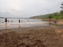 Puis un petit saut à la plage.