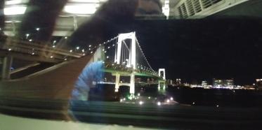 Retour par ce superbe métro de nuit.