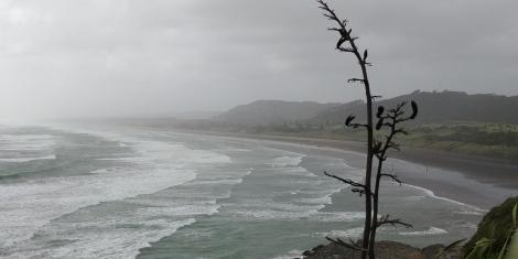 Mauvais temps le cyclone Gita passe ce soir.