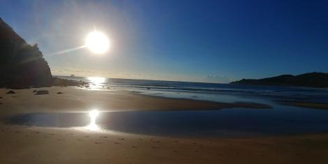 Et ces levés de soleil que j'adore seul le matin en courant.