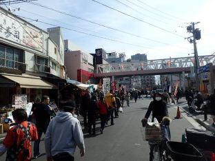 Le marché aux poissons de Tsukiji.