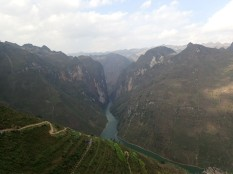 Le plus grand canyon du Vietnam.