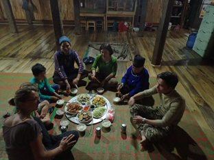 Dernier repas avec la famille de Chu Chu.