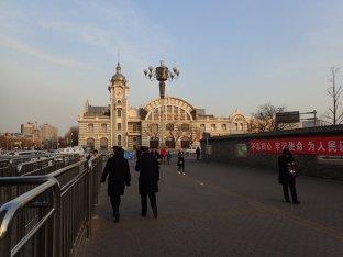 Le musée ferroviaire.