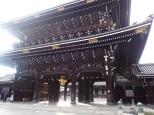 Kyoto: Temple Higashi Hongan-ji.