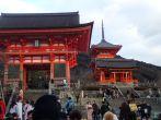 Le Kiyomizu-Dira Temple.