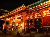 Temple visité systématiquement par les lutteurs de sumo avant leurs combats.
