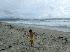 Et l'on profite un peu de la plage.