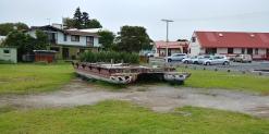 Footing du matin et découverte d'un cata Maori.
