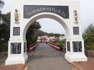 Whakarewarewa le village Maori.