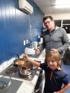 Nouvelle cuisine avec Simon toujours aux commandes.