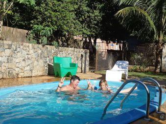 Redétente ds notre piscine!!!