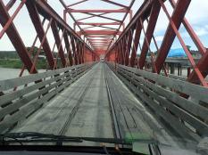 Vieux pont à une voix, comme tous les ponts en NZ.
