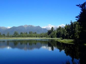 Le miroir du mont Cook et de l'Aoraki.