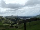 Vue des hauteurs de l'Otago.