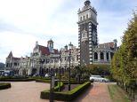 Sa superbe gare de 1903, elle serait le monument le plus photographié de NZ.