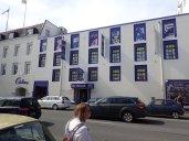 Mais aussi le musée Cadbury que l'on a pas vu, par contre la boutique ouiiiii!!!