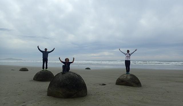 Moeraki Boulders NZ