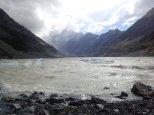 Et nous voici au Hooker Glacier.