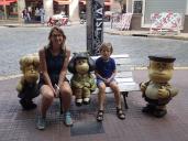 la grande joie de M.Laure et Simon, rencontre avec Mafalda.
