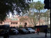 La Casa Rosada: palais du gouvernement.