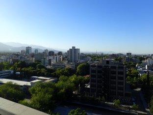 Et arrivée à Mendoza.
